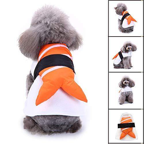 OOEOO Pet Costume,Japanese Sushi Dog Costume Dress Up