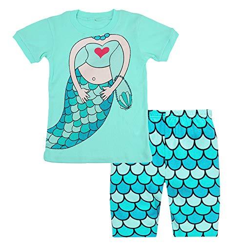 Pajamas for Girls Little Kid Short Sets ...