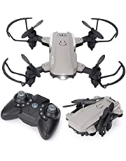 $29 » Behorse Mini Drone for Kids,RC Quadcopter with Foldable, Headless Mode,3D Flip,2.4Ghz Remote Control,RTF One Key Take Off/Landing,Auto Return Home,Super Easy Fly for Toy for Beginners/Kids