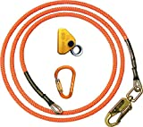 ClimbRight 1/2'' Wire Core Flipline Kit (8 Feet) CRK 12SS 8