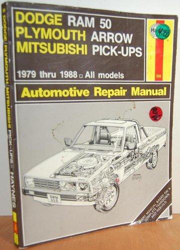 Chrysler mini-pickups: Owners workshop manual