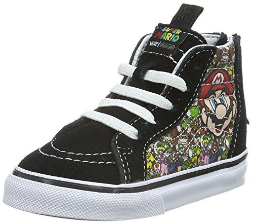 Vans Sk8-hi Zip, Botines de Senderismo Para Bebés Multicolor ((Nintendo) Mario & Luigi/true white)