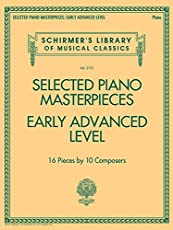 Selected Piano Masterpieces: Early Advanced Level, Piano, 16 Pieces by 10 Composers