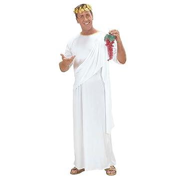 Griechin Kostüm Römische Toga weiß M UNISEX Römerinkostüm ...