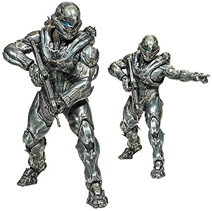 Amazon Com Halo 5 Guardians Spartan Locke Deluxe Figure Toys Games