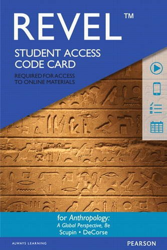Revel for Anthropology: A Global Perspective -- Access Card (8th Edition)
