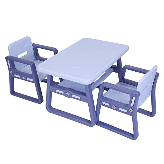 MW Juego de Mesa y sillas para niños de WM, Silla de Actividades ...