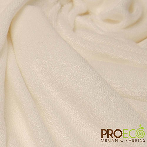 Ready-AbZORB ProECO Bamboo Baby Loop Terry Fabric (Made in USA, Natural, sold by the yard)
