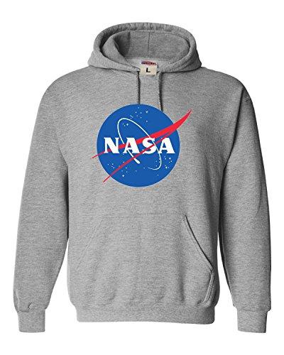 X-Large Oxford Adult NASA Logo Sweatshirt Hoodie