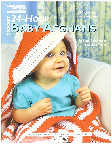 Afghan Baby Shell (Leisure Arts 24-Hour Baby Afghans Book)