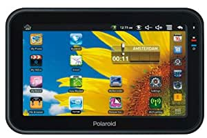 Polaroid MPC700G 4GB Negro - Tablet (microSDHC, microSDXC, 800 x 480 Pixeles, Resistiva, MP3, JPG, 3GP, AVI, FLV, MKV, MOV, MP4, MPEG, RM, RMVB, WMV)