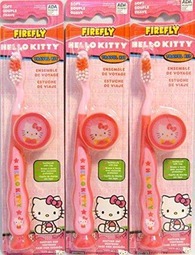 FireFly Hello Kitty Travel Kit (3 Pack)