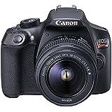 EOS Rebel, Canon, T6 EF-S 18-55 f/3.5-5.6 III BR, Preta