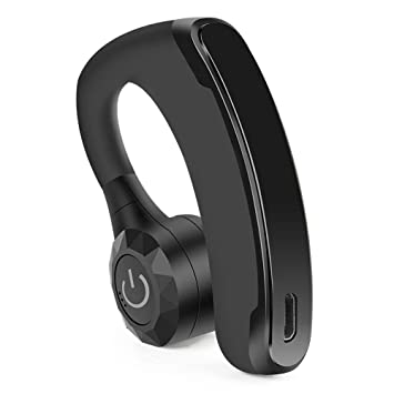 ZOUQILAI Auriculares inalámbricos Bluetooth Auriculares Ganchos para la Oreja con micrófono Auriculares intrauditivos con cancelación de