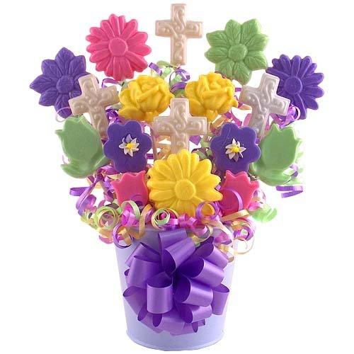 Blooming Blessing Lollipop Bouquet