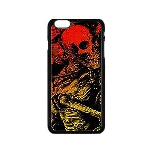 Battered human skeleton Phone Case for iPhone 6