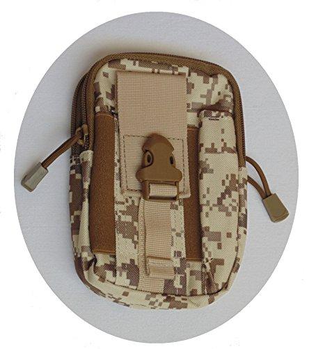 Gürteltasche viele Extras Bodybag Hüfttasche camouflage