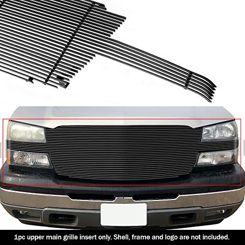 (APS C85026H Black Powder Coated Grille Replacement for select Chevrolet Avalanche 1500)