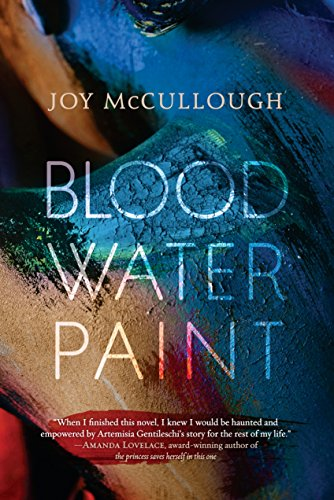 Book cover: Blood, Paint, Water