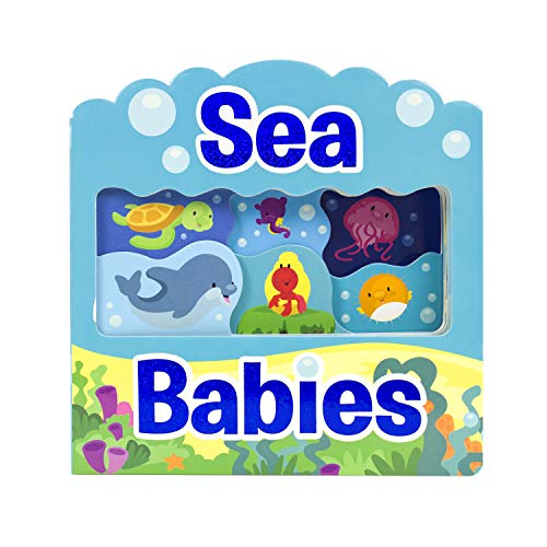Sea Babies Wonder Window Board Book - PI -
