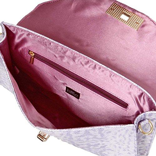 BMC - Bolso de asas para mujer Lilla Lilac Lover