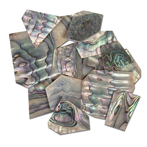 StewMac Pearl Inlay Blanks - 1oz Pack, Green abalone by StewMac