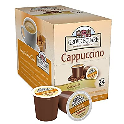 Grove Square Caramel Cappuccino K-Cups)