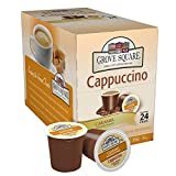 keurig cappuccino grove - Grove Square Cappuccino, Caramel, 24 Single Serve Cups