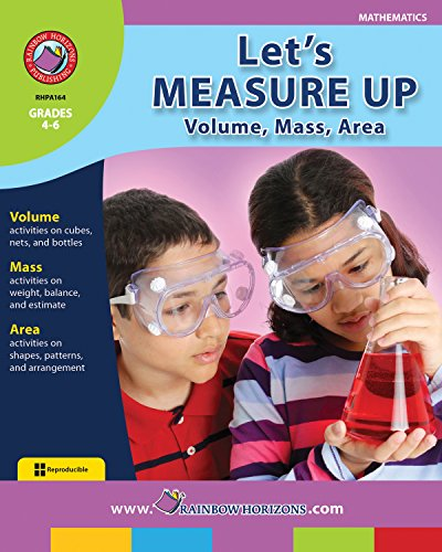 Measure Lets (Let's Measure Up! Volume, Mass and Area Gr. 4-6)