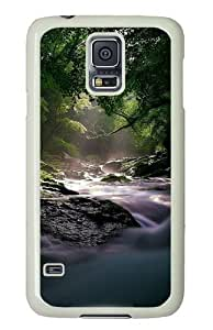 Unique Painting Path To The Light Cover for Samsung S5 and Samsung Galaxy S5