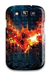 CaseyKBrown Snap On Hard Case Cover Batman Dark Knight Trilogy Protector For Galaxy S3