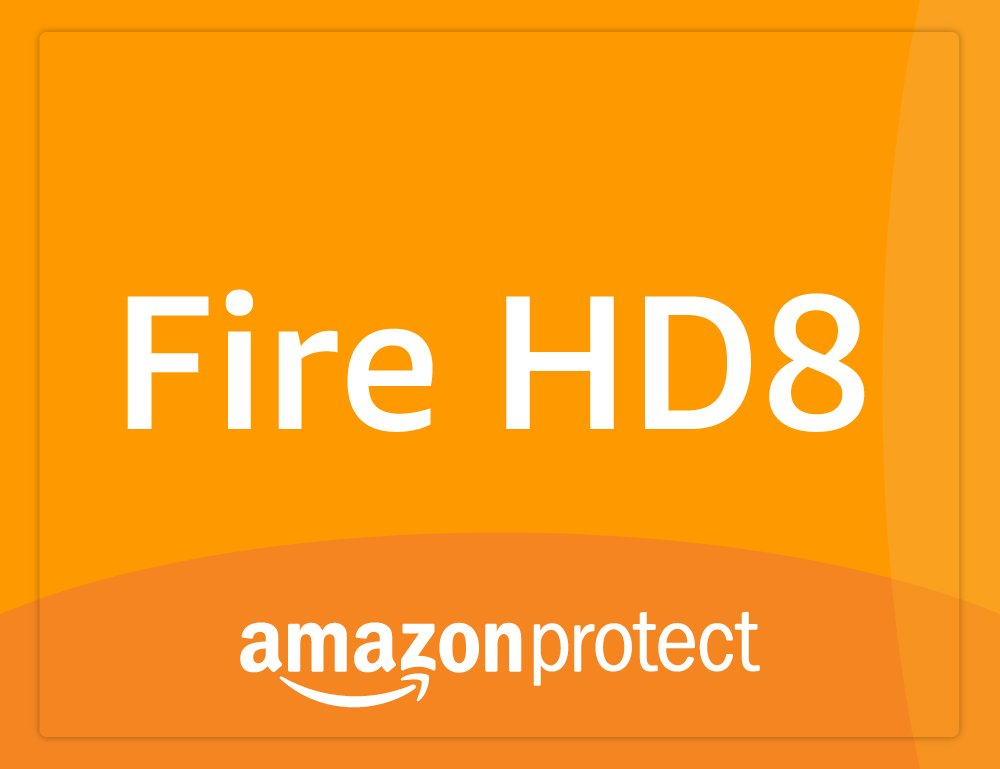 3 años de Amazon Protect - Seguro de daño accidental y averías para tablet Fire HD 8 (7ª generación - modelo de 2017), reservado para residentes en España: ...