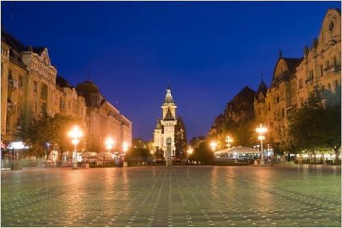 Photographic Print of Victorei Square, Timisoara, Romania, Europe