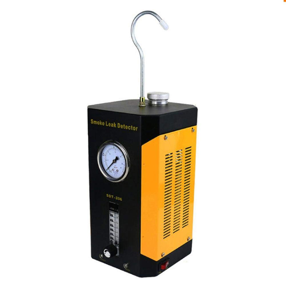 SDT-206 Car Smoke Machines Professional Repairing Adjustable Flowmeter Cars Leak Locator Automotive Diagnostic Leak Detector by Wal front (Image #8)