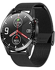 New L13 Smart Watch Men Women ECG+PPG Waterproof Bluetooth Call Blood Pressure Fashion Wristbands Bracelet Fitness SmartWatch