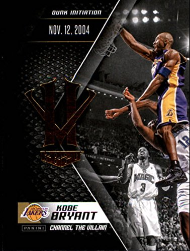 2015-16 Panini HV KB20 Channel the Villain #10 Kobe Bryant Dunk Initiation NBA Basketball Trading Card