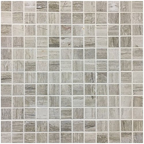 - Art3d Decorative Stone Mosaic Tile for Floor or Walls (4 Pack)