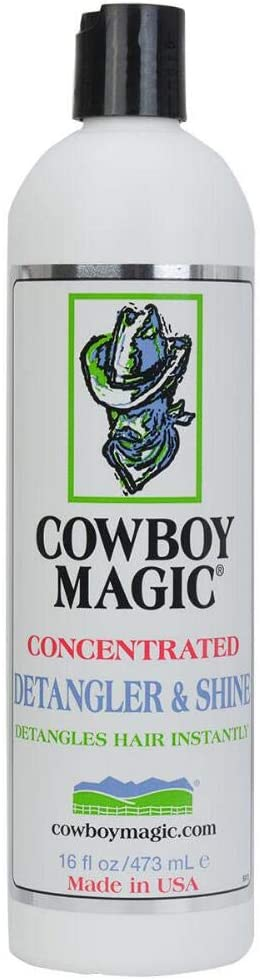 Cowboy Magic Concentrated Detangler and Shine Great for Pets and Human Hair! (16 fl oz (473 mL))