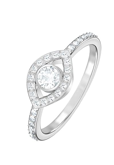 c9b96b8c4 Swarovski Luckily Cubic Zirkonia White Ring 5368242 (Maat 55):  Amazon.co.uk: Jewellery