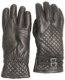 Hot Chillys HC9128 Women's Rita Leather Glove, Black - WM