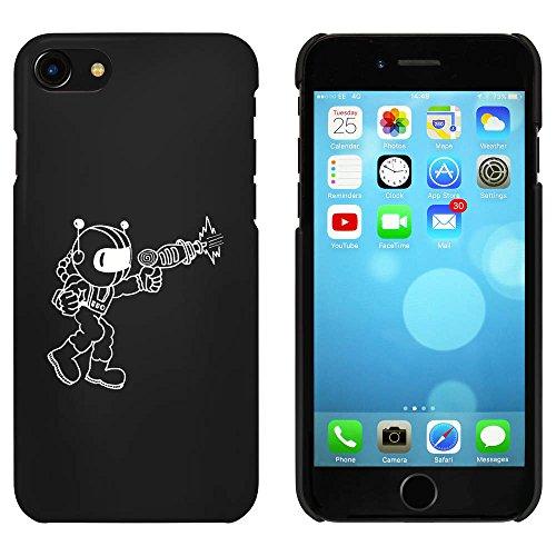 Noir 'Astronaute avec Pistolet' étui / housse pour iPhone 7 (MC00058813)