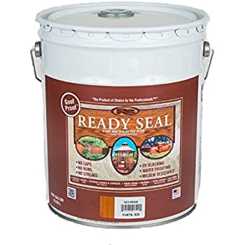 Ready seal 520 5 gallon pail redwood exterior - Woodsman premium exterior wood care ...
