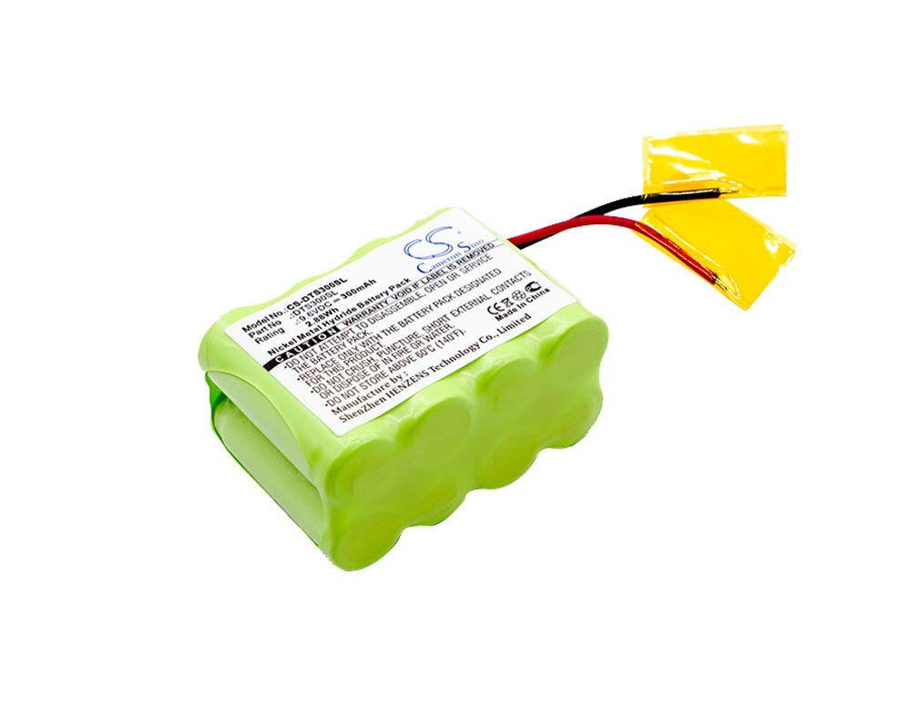 Cameron Sino 9.60V 300mAh,Dog Collar Battery Replacement Battery fits DT Systems,DT 300 Receiver,DT 700 Receiver,DT 300 Transmitter,DT 700 Transmitter by Liwq2000