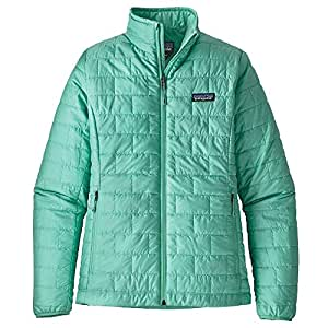 Amazon Com Patagonia Women S Nano Puff Jacket Vjosa Green