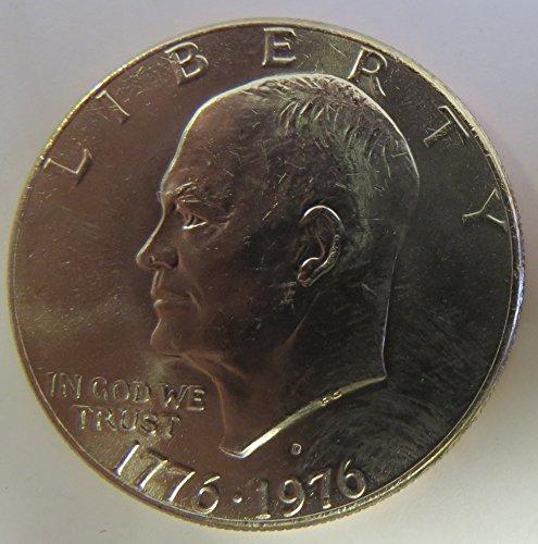 - 1976 D Eisenhower Type 1 Dollar Choice Uncirculated
