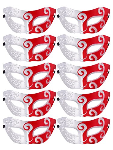 CISMARK Half Masquerades Venetian Masks Costumes Party Accessory