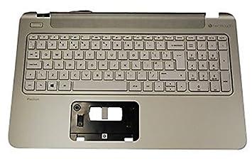 HP 762530-251 Carcasa con Teclado Refacción para Notebook ...