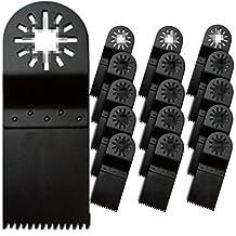 ZFE® Japan MultiTool Saw Blade For Fein Bosch Ryobi Dremel Makita Multimaster Multifunction Tools Pack of 16pcs