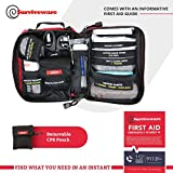 Surviveware Small First Aid Kit with Labelled