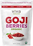 Best Goji Berries - Viva Naturals Premium Himalayan Organic Goji Berries, Noticeably Review